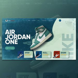 background nike air jordan
