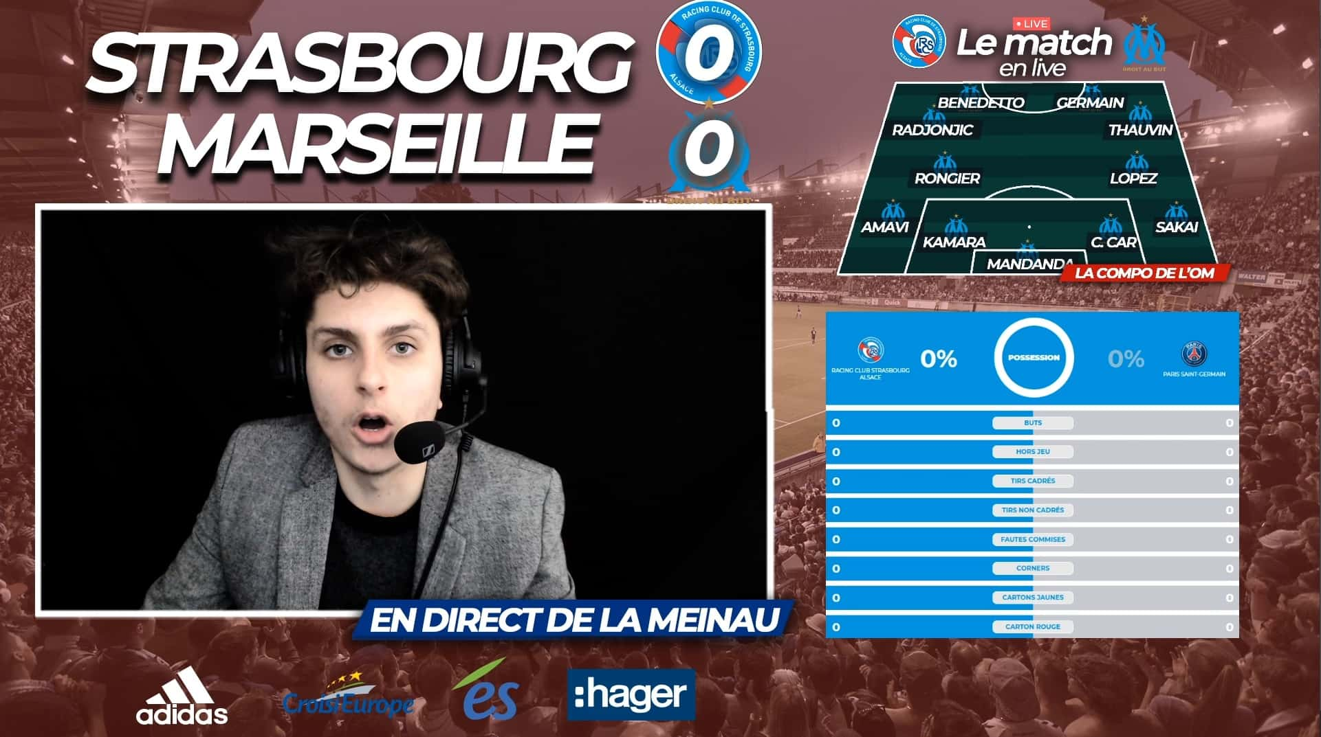 live football en direct